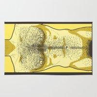 Hairy Torso - Yellow Rug