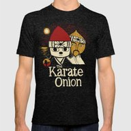 T-shirt featuring The Karate Onion by Louis Roskosch