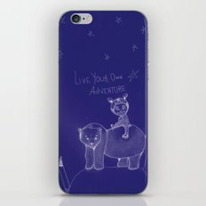 Live Your Own Adventure iPhone & iPod Skin