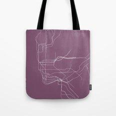 New York Subway Tote Bag