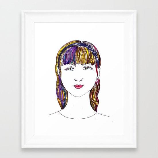 Mandy Framed Art Print