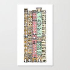 Olden Days Skyscrapers Canvas Print