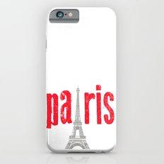 Paris Red iPhone 6 Slim Case