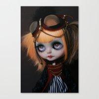 FREAKCIRCUS (Ooak BLYTHE… Canvas Print