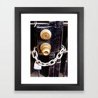 Locked 2011 Framed Art Print