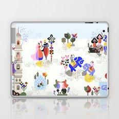 Indian miniature interpreted Laptop & iPad Skin