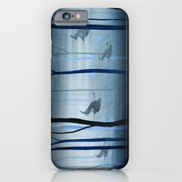 Witches Flying Low Through the Woods iPhone 6 Slim Case
