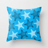 Starfish Throw Pillow