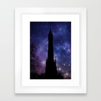 Water Tower-Victorian Framed Art Print