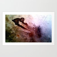 Stained Art Print