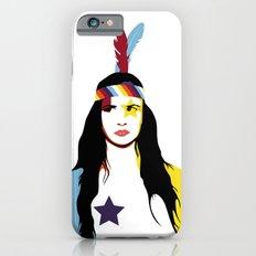 =Juliette Lewis///White= iPhone 6s Slim Case