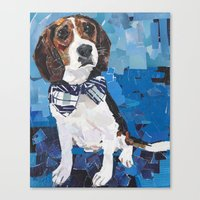 Earl the Hound Pup Canvas Print