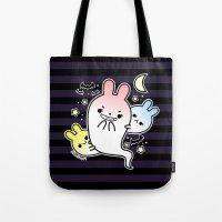 Naughty Halloween Bunny … Tote Bag