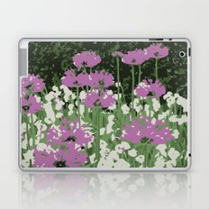 Spring Flowers in Central Park Laptop & iPad Skin