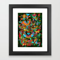Schema 7 Framed Art Print