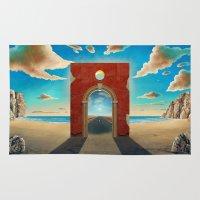 Arch Gate Rug
