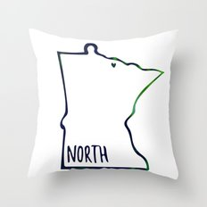We are the North Throw Pillow