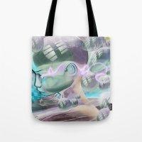 Bubble Head Tote Bag