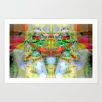 The God of Evil and Vegetables Art Print