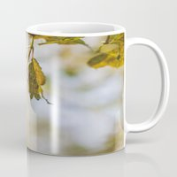 Berry Bokeh Fine Art Photographic Winter Print  Mug