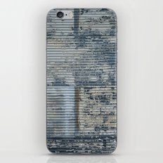 Warehouse District -- Vintage Industrial Farm Chic Abstract iPhone & iPod Skin