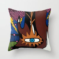 And The MAGIC BERRIES PL… Throw Pillow