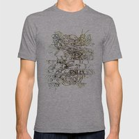 Autistic Remix #003 Mens Fitted Tee Athletic Grey SMALL