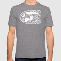 Bullet Bill #CrackedOutB… Mens Fitted Tee Tri-Grey SMALL