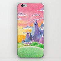 The Ice Kingdom iPhone & iPod Skin