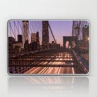 Brooklyn Bridge By Night Laptop & iPad Skin