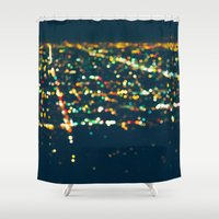 LA Stars Shower Curtain