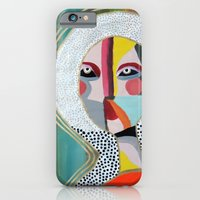 iPhone Cases featuring Aura 2 by sylvie demers