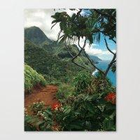 Kalalau Kauai Canvas Print