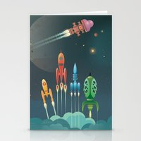 Grand Départ Stationery Cards