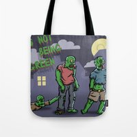 It's Not Easy Being Gree… Tote Bag