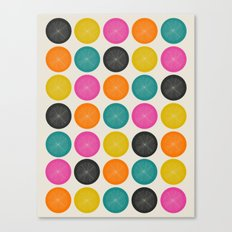 Circles 3 Canvas Print