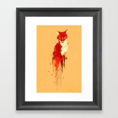 The fox, the forest spirit Framed Art Print