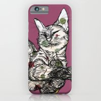 iPhone & iPod Case featuring KitKat by Estelle F
