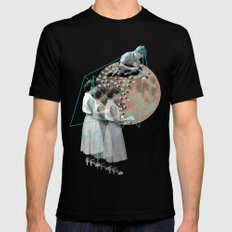 Gothic Moon Maker SMALL Black Mens Fitted Tee