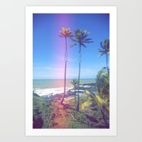 Fragmented Palm Art Print