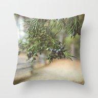 Winter's Bounty Throw Pillow