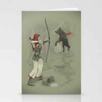 Little Red Robin Hood Stationery Cards
