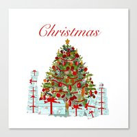 It's Christmas Canvas Print