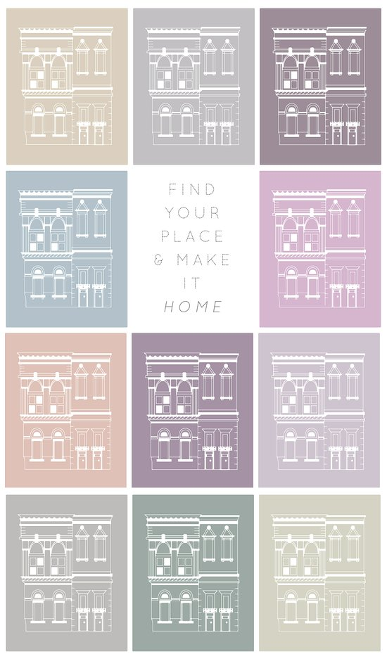 Find Your Place Art Print