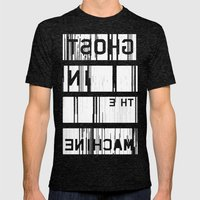 Ghost in the Machine (Inverted) Mens Fitted Tee Tri-Black SMALL