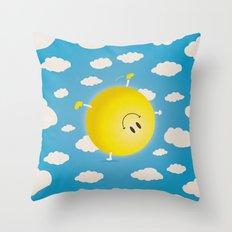 Summersault Throw Pillow