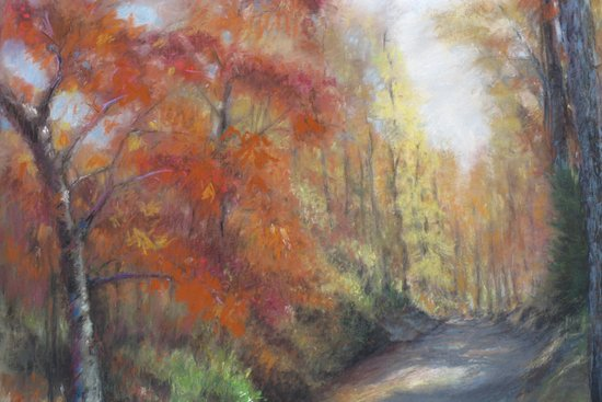 Fall Walk Art Print