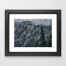 Mountain Slope Framed Art Print