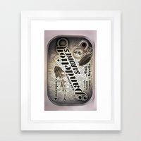 Sardine 2 Framed Art Print