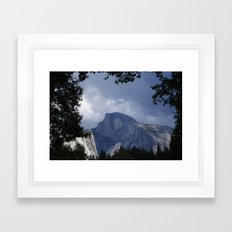 Half a Dome Framed Art Print